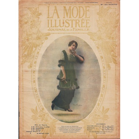 magazine La Mode Illustrée 1914-4