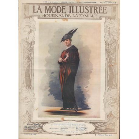 magazine La Mode Illustrée 1914-22