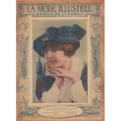 Revue complète de La Mode Illustrée 1914 N°15