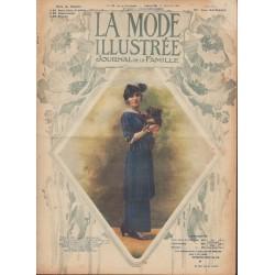 Complete magazine La Mode Illustrée 1914 N°28