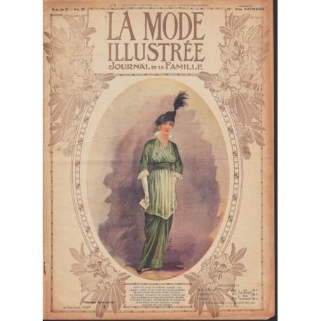 Complete magazine La Mode Illustrée 1914 N°7
