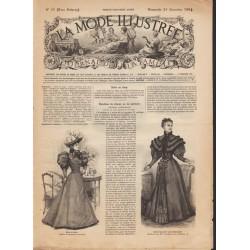 Complete magazine La Mode Illustrée 1894 N°51