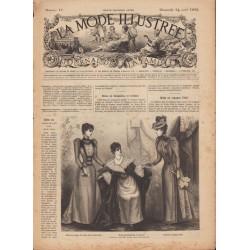 Revue complète de La Mode Illustrée 1892 N°17
