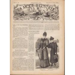 Complete magazine La Mode Illustrée 1892 N°40