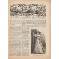 Complete magazine La Mode Illustrée 1894 N°36