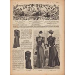 Complete magazine La Mode Illustrée 1892 N°10