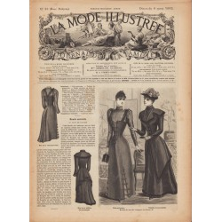 Revue complète de La Mode Illustrée 1892 N°10