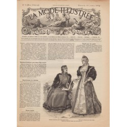magazine La Mode Illustrée 1894-3