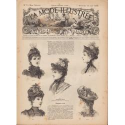 Complete magazine La Mode Illustrée 1892 N°16