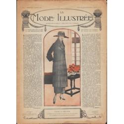 magazine La Mode Illustrée 1918 N°01