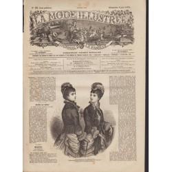 Revue complète de La Mode Illustrée 1879 N°23