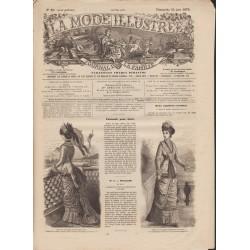 Revue complète de La Mode Illustrée 1879 N°25