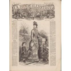 Revue complète de La Mode Illustrée 1879 N°27