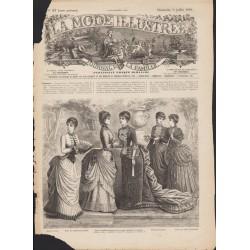 Revue complète de La Mode Illustrée 1884 N°27