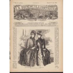 Revue complète de La Mode Illustrée 1884 N°24