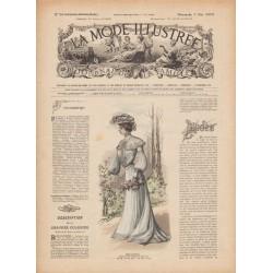 Complete magazine La Mode Illustrée 1903 N°18