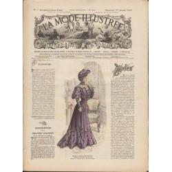 Complete magazine La Mode Illustrée 1905 N°05