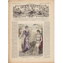 Complete magazine La Mode Illustrée 1899 N°33