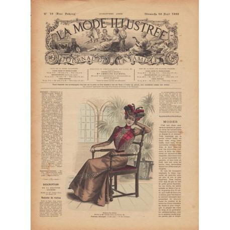 magazine La Mode Illustrée Paris 1899-16
