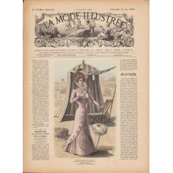 Complete magazine La Mode Illustrée 1899 N°25