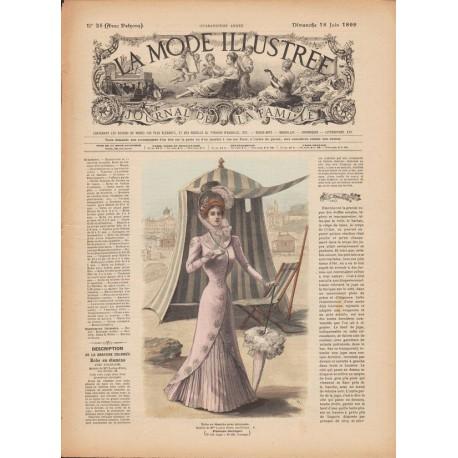 Revue complète de La Mode Illustrée 1899-25