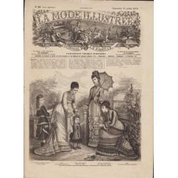 Revue complète de La Mode Illustrée 1878 N°29