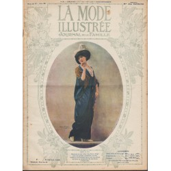 magazine La Mode Illustrée 1913-31
