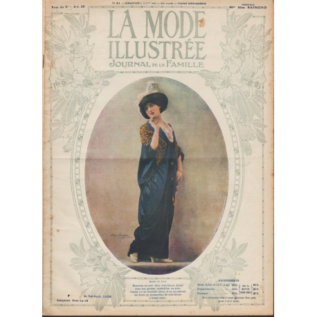 Revue La Mode Illustrée 1913-31