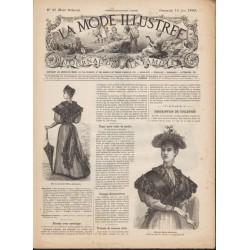 magazine La Mode Illustrée 1893 N°25