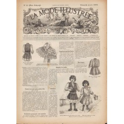 Revue complète de La Mode Illustrée 1893 N°23