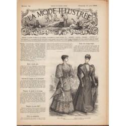 Complete magazine La Mode Illustrée 1893 N°24