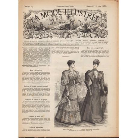 Revue complète de La Mode Illustrée 1893 N°24