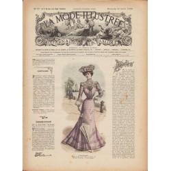 Complete magazine La Mode Illustrée 1902 N°29