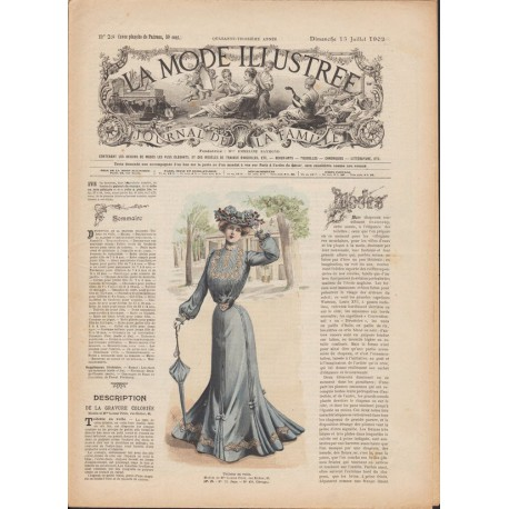 magazine La Mode Illustrée 1902-28