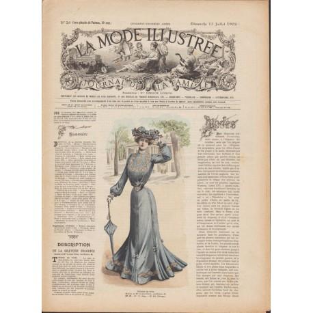 Revue La Mode Illustrée 1902-28