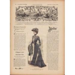 Revue complète de La Mode Illustrée 1902 N°11