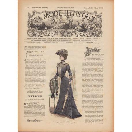 Complete magazine La Mode Illustrée 1902 N°11