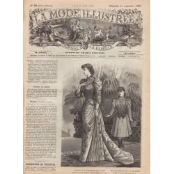 Revue complète de La Mode Illustrée 1890 N°38