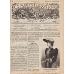 Complete magazine La Mode Illustrée 1890 N°46