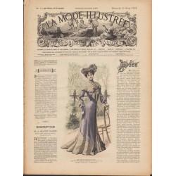 Complete magazine La Mode Illustrée 1902 N°13