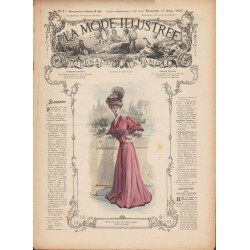 Revue complète de La Mode Illustrée 1907 N°13