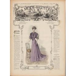 Revue complète de La Mode Illustrée 1907 N°10