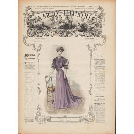 magazine La Mode Illustrée 1907-10