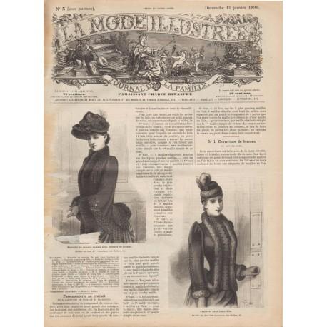 Revue La Mode Illustrée 1890-3