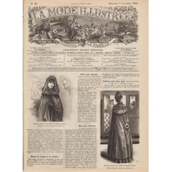 Complete magazine La Mode Illustrée 1890 N°45