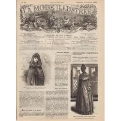 magazine La Mode Illustrée 1890-45