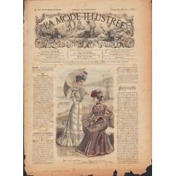 Complete magazine La Mode Illustrée 1900 N°25