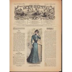 Complete magazine La Mode Illustrée 1900 N°40