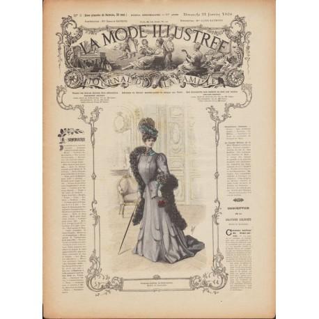 Complete magazine La Mode Illustrée 1906 N°03