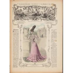 Complete magazine La Mode Illustrée 1906 N°24